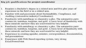 19 Elegant Project Coordinator Resume Samples Bizmancan Com