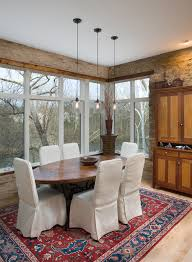 dining room table lighting. Elegant Outdoor Rabbit Hutch In Dining Room Rustic With Table Lighting Next To Bar Pendant