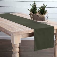 green velvet 72 inch table runner by vhc brands