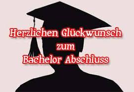 Bachelor Abschluss Glückwünsche