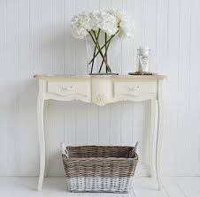 cream console table. Regency Cream Console With Drawers For Hall Table C