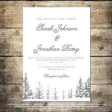 Winter Wedding Invitations Snowflake Elegant Snowflake Wedding
