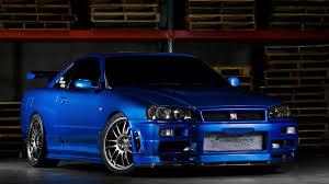 nissan skyline 2015 blue.  Nissan Gtr R34 Blue U003eu003e Nissan Skyline GTR Wallpapers Group 89 Intended 2015