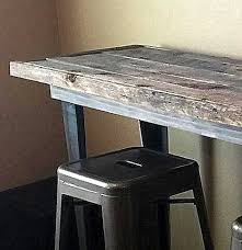 modern metal furniture legs. Reclaimed Wood Table With Modern Metal Legs Furniture