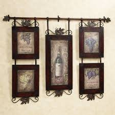 Grapes And Wine Kitchen Decor Dining Room Modern Dining Room Wall Decors Colorful Grapes And