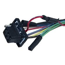 mustang underdash wiring harness with gauges 3 speed heater 1965 wiring 1965 mustang at Under Dash Wiring Harness