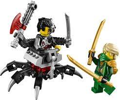 LEGO 70722 - Đồ chơi LEGO Ninjago Người Máy Tấn Công cho trẻ em