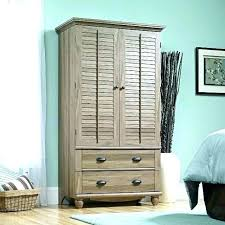 full size of narrow clothing armoire storage small wardrobe coat closet bathrooms splendid white drop dead