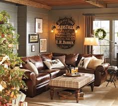 for the cabin living room so cozy by the fireplace cheyanne leather trend sofa