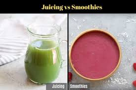 Vegetable Juicer Comparison Chart Juicing Vs Smoothies