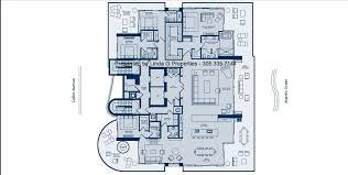 l atelier miami beach condos full floor luxury condo floorplan