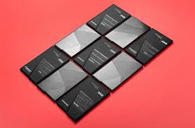 Exo The French Architect Firm Black Business Card Design