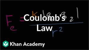 Coulombs Law Video Khan Academy