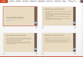 Bill Of Rights Powerpoint Free Parents Bill Of Rights Powerpoint Template