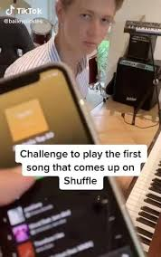 tiktok challenge to play the first song