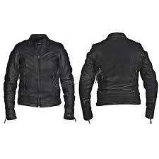 interstate leather women s black jazz leather jacket i5087xs