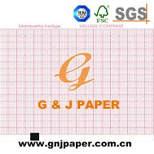 Hot Item Roll Size Red Grid Medical Ecg Chart Paper With Plastic Core