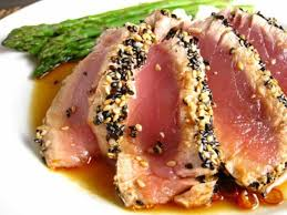 Sesame Crusted Ahi Tuna Steak Recipe ...
