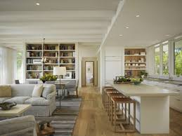 17 Open Concept Custom Living Room And Kitchen Design