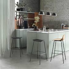 Adjustable Height Muuto Fiber Bar Stool With Backrest 65cm Ambientedirect Muuto Fiber Bar Stool With Backrest 65cm Ambientedirect