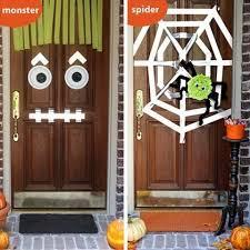 halloween front door decorationsHalloween Front Door Decorations Pictures Photos and Images for