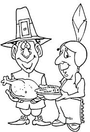 Native American Coloring Pages Pdf Coloring Page Thanksgiving