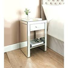 mirrored side tables for bedroom mirrored bedside table bedroom furniture b m inside bed side tables ideas