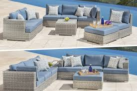 outdoor sofa sectional wicker patio