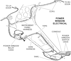 Power window electrical diagram view chicago corvette supply rh chicagocorvette 1994 dodge ram 2500 wiring diagram kit for power window wiring diagram