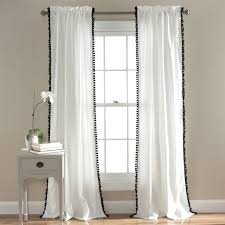 Navy And White Curtains Curtain Walmart Drapery Panels Navy Blue Curtains Walmart