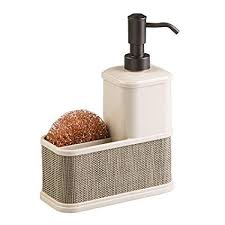 Amazon.com: mDesign Decorative Plastic Kitchen Sink Countertop ...
