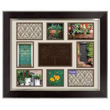 better homes gardens 16 x 20 family tree collage frame espresso with silver com