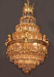 antique chandeliers antique french belle epoch baccarat crystal and ormolu