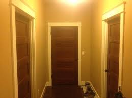 white doors with wood trim painting door trim does stained doors with white moldings work finish