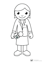 Community Workers Coloring Pages Community Helpers Coloring ...