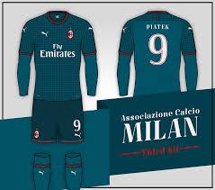 Ac milan away kit • 2020.2021. A C Milan 2020 21 Third Kit Prediction According To Leaks