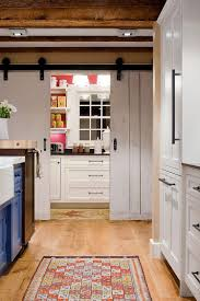 69 most gracious small kitchen wuth blue island and white cabinet also wooden pantry sliding barn doors for cabinets kitchens with open storage rustic door