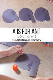 The international phonetic alphabet (ipa) is an alphabetic system of phonetic notation based primarily on the latin script. A Is For Ant Letter Craft The Kindergarten Connection