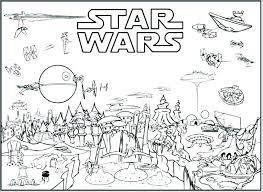 Starwars Coloring Page Coloring Pages Coloring Pages Star Wars Cast