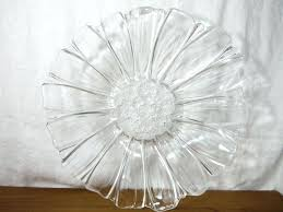 clear glass serving platters large clear glass bowl chrysanthemum flower salad fruit serving platter unbranded clear glass rectangular serving tray