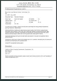 Sample New Grad Nursing Resume Graduate Nurse Resume Cover Letter