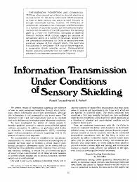 ieee xplore communications society information transmission under conditions of sensory shielding
