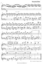 Light My Fire Piano Music Light My Fire Shakugan No Shana Final Op1 Stave Preview Eop