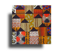 Best 25+ African quilts ideas on Pinterest | Quilt patterns, Easy ... & African Huts-Pattern - Material Obsession Adamdwight.com