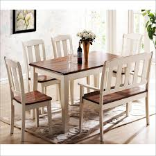 table 4 chairs and bench. amazing of dining table set with bench corner room round sets 4 chairs and 9