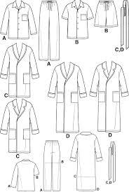 Pajama Patterns Inspiration Simplicity 48 Men's Pajamas And Robe