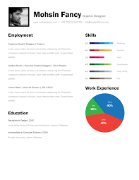 Resume Template One Page Resume For Study