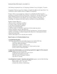 Problem Solving Analysis Essay Examples And Solution Topics For