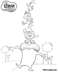 Small Picture The Lorax Coloring Pages In glumme
