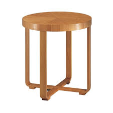 round wooden side table idfdesign